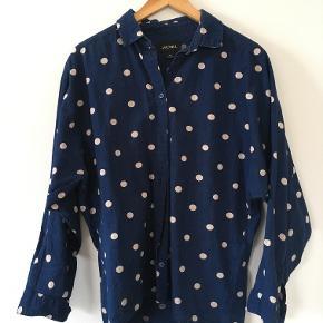 Monki denim polka dot shirt, size is XS but it's oversized so fits fine for a medium.