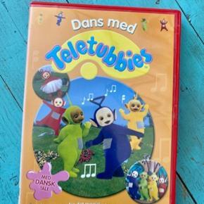Dans med teletubbies dvd  -fast pris -køb 4 annoncer og den billigste er gratis - kan afhentes på Mimersgade 111 - sender gerne hvis du betaler Porto - mødes ikke andre steder - bytter ikke