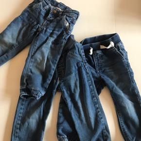 Tre par jeans. Fejler intet. 1 par fra GAP, str. 18-24mdr. 1 par fra EAT ANTS, str. 92 (en smule små)  1 par fra LEGO wear, str. 18-24 mdr.