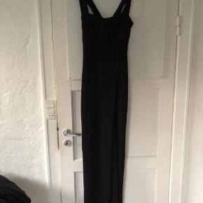 82dedbec8aca Gallakjole - Sort enkel kjole