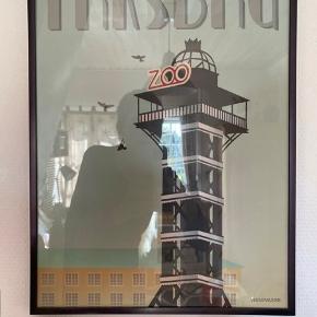 Flot plakat fra Vissevasse, 30x40