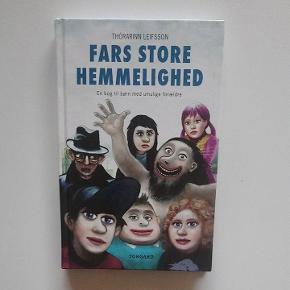 """""""Fars store hemmelighed - en bog til børn med umulige forældre"""" af Thórarinn Leifsson 120 sider med billeder Børnebog, men er også sjov for ældre  Børnebøger / kannibalisme / familiehemmeligheder"""