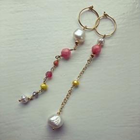Emma ørering - Smukke hænge øreringe i de skønneste sommer farver