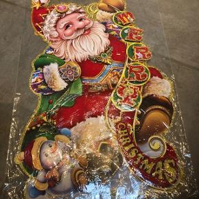 Stor flot julemandsophæng,  til indenfor, aldrig brugt ,i original emballage, fra ikke ryger hjem .