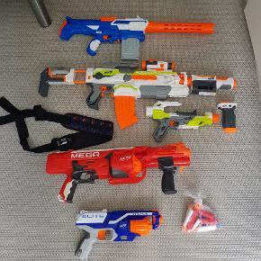 4 nerf.   AIR BLASTERS Eradicator  NERF - N-Strike Elite Modulus ECS-10 Blaster  Nerf guns mega rotofury   Fast mp.
