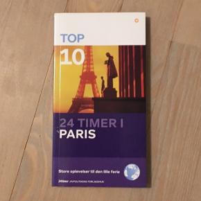 Paris rejsebog i perfekt stand da den ikke er brugt