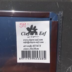 Metal skilt fra Clayre & Eef  Har aldrig været pakket ud