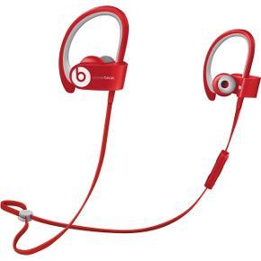 Powerbeats2 Wireless. Beats by Dr. Dre. Trådløse høretelefoner specielt gode til løb. De falder ikke ud da de er sikret bag øret. Kører via bluetooth. De er brugte, men super stand. Etui, oplader stik og ekstra øredutter MEDFØLGER.  Byd!