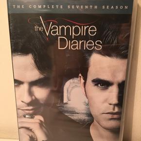 The Vampire Diaries sæson 7 - stadig i indpakning.