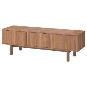 STOCKHOLM Tv-bord, valnøddetræsfiner160x40x50 cm Fin Stand men lille rids
