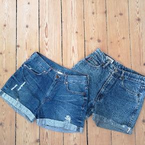 Fri valg 40 kr pr stk. 1. Er denim shorts fra monki og er str m. 2. Er vintage denim shorts og svarer ca til en 38.  Køber betaler fragt