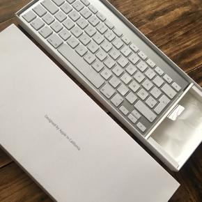Trådløst apple tastatur sælges, aldrig brugt. Er til batteri