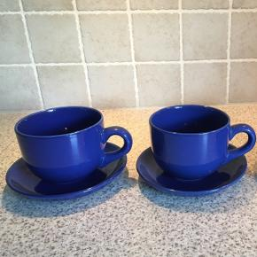 Store jumbokopper  2 blå og 1 i grøn 20 kr stk.