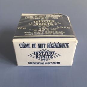 Regenerating Night Cream with shea butter fra Institut Karité Paris.   Aldrig brugt eller åbnet. Stadig med plombering. - Nypris: 350 kr.