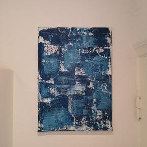 Maleri Akryl på hørlærred Jeg kan levere gratis i næste uge