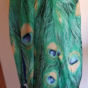 Update CPH ny tørklæde,  påfugle mønster