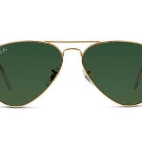 Ray Ban Aviator Metal large solbriller NSN Brugt få gange og fremstår som nye