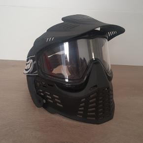 Airsoft gun or paintball mask.