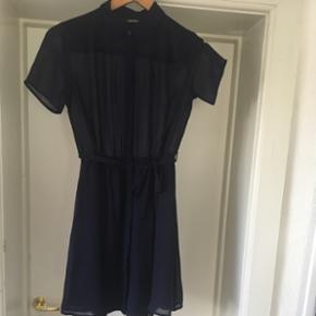 Blue Monki shirt dress 👗 see through top. Worn just once
