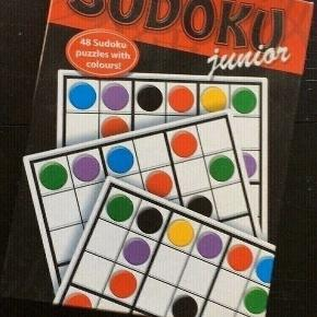 Fin stand Junior soduko  Sender gerne   Se flere spil mm Perfekt til at ta med i telt shelter eller sommerhus
