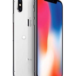 Ny iPhone X 64GB sælges. Aldrig brugt. Headset medfølger, men ingen oplader. Har fået en ny i stedet for en reparation, men havde i mellemtiden købt en anden.