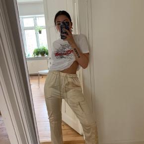 Bukser i satin