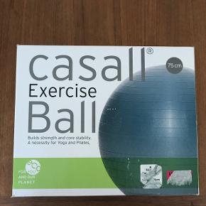Casall Exercise Ball Ø: 75 cm Aldrig brugt - stadig i original indpakning  Nypris 350 kr.