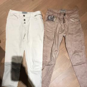 2 par Copenhagen Luxe bukser i str XS men passer også en str S1 par hvide med sten og 1 par rosa med pailletter Sælges samlet for 150,-