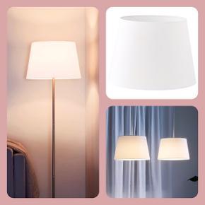 JÄRA Lampeskærm, hvid, 33 cm Fejler intet
