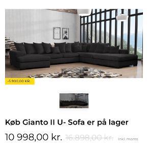 fed flyde sofa fra moderno, den er helt ny slet ik brugt kun åbnet og stået inde på værelset, sælger pga jeg skal flytte. Er åben for bud men ikke skambud