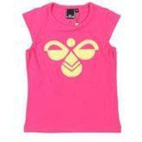 Varetype: NY FLOT T-ShirtFarve: Pink  NY FLOT T-Shirt i str. 146 fra Hummel.  Mindsteprisen er kr. 150+porto.  Jeg bytter ikke.