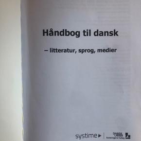 Rigtig god dansk bog. Har haft meget gavn af den gennem min gymnasietid. Sælges da jeg går ud af 3.g i år