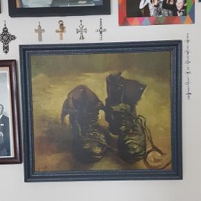 Fejler intet. Kendt maleri af gamle støvler. Hurtig afhentning da jeg skal flytte.