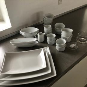 Porcelæn, fade, skåle