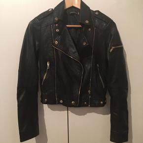 NewFaux leather jacket