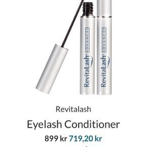 Næsten ny revitalash 3,5 ml øjenvippe serum 85% tilbage Mærket er blevet slidt af i makeup pungen, men jeg har stadig æsken der til. Nypris 900kr Byd