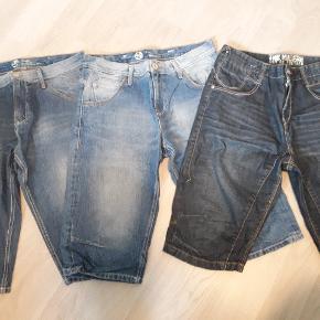 3 par velholdte shorts. Sælges samlet eller 150 pr. par.
