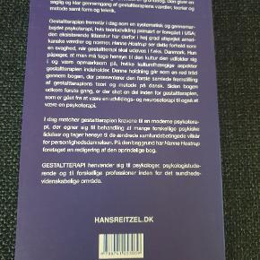 Gestaltterapi er en grundbog, som giver en saglig og klar gennemgang af gestaltterapiens værdier, teorier og metoder samt form og teknik. Aldrig brugt/læst. Kom med et bud.  Køber betaler fragt med Dao eller kan evt afhentes på Østerbro. Se også mine andre annoncer 🙂.