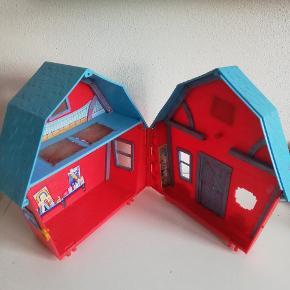 Hus med åbne lukke funktion