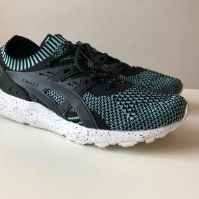 ASICS Gel-Kayano Trainer Knit Mint/Black  https://www.nakedcph.com/en/product/5594/asics-gel-kayano-trainer-knit-hn706-6790