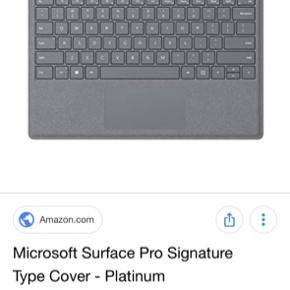 Tastaturet til Microsoft Pro 3 med Pen .