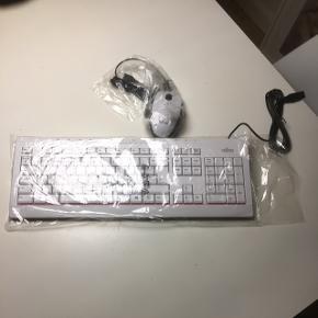 Fujitsu tastatur og mus Aldrig brugt  Byd