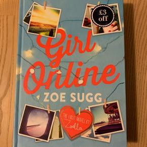 Girl Online af Zoe Sugg. Engelsk udgave, hardback