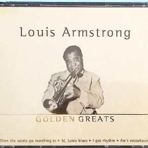 3 CD´er med alle de bedste med Louis Armstrong Porto 37 kr