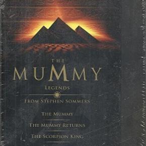 8252 - The Mummy  Legends (DVD)  Dansk Tekst - I FOLIE   The Mummy  The Mummy Returns  The Scorpion King