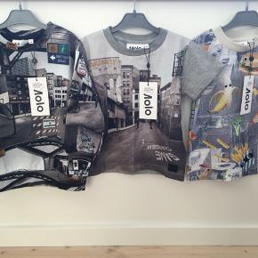 NYT Molo str. 92-98 Alt er NMM 2 t-shirts str. 92 1 sweatshirt str. 98 Nypris 1000,00 kr.  MP 500 kr. pp