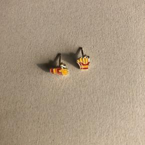 Søde øreringe med pommes 🍟
