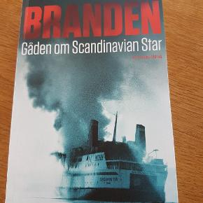 Bog  Branden Gåden om Scandinavian Star   Ny  Porto 38kr