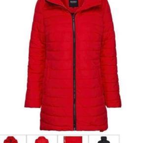 Flot dame jakke i rød