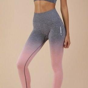 Gymshark sæt: bluse, sports bh og leggings